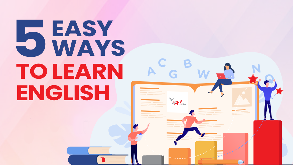5 Easy Ways To Learn English